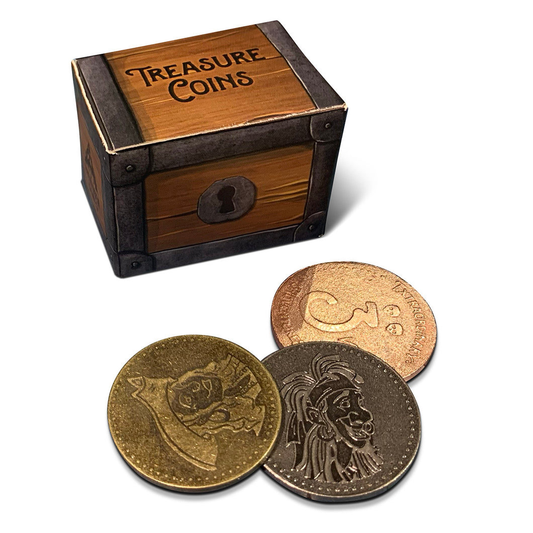 Extraordinary Adventures: Pirates! Coin Set