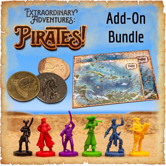 Extraordinary Adventures: Pirates! Add-On Bundle