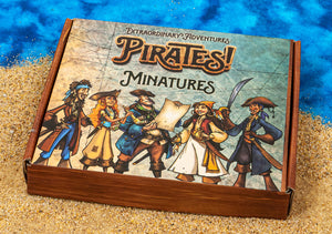 Pirate Character Miniatures