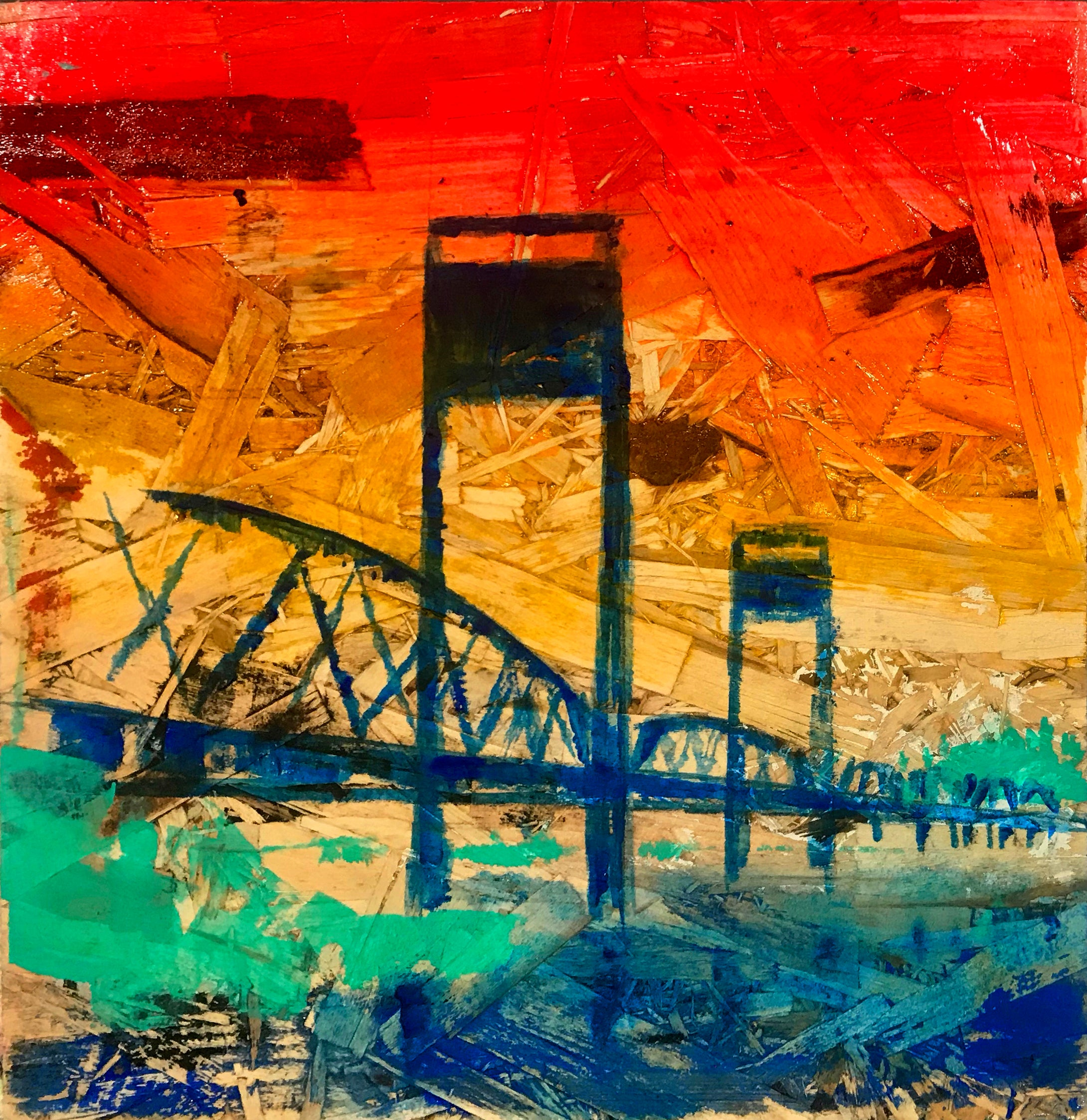 Stillwater Lift Bridge, Nº 1, 12 x 12