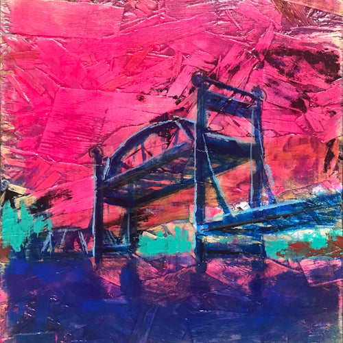 Stillwater Lift Bridge, Nº 2, 12 x 12