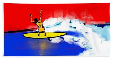 Surfer Girl - Beach Towel