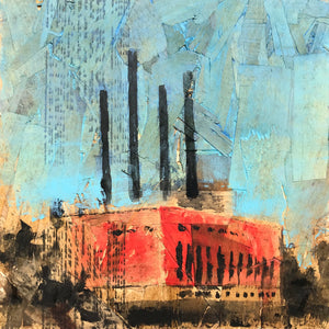 Minneapolis Power Plant, Nº 1, 12 x 12