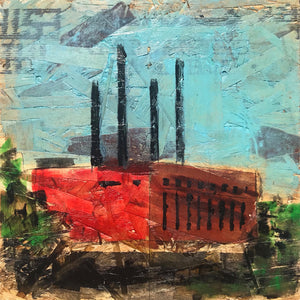 Minneapolis Power Plant, Nº 2, 12 x 12