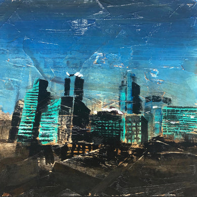 Minneapolis Skyline, Nº 2, 12 x 12