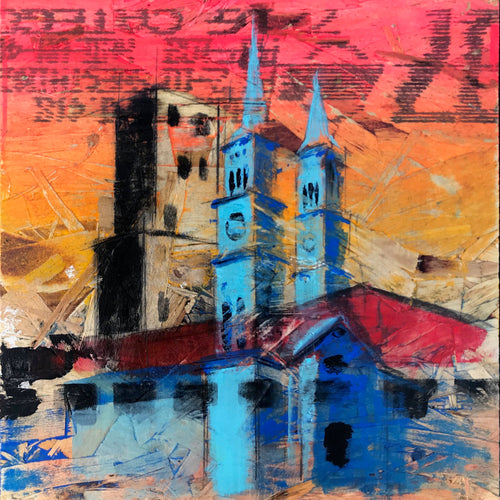 St. Paul Mix, Nº 5, 12 x 12