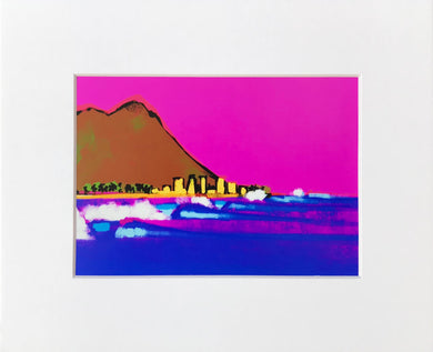 South Swell 2 - Matted Print (fits into 8