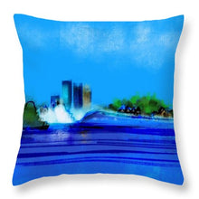Isles Left - Throw Pillow