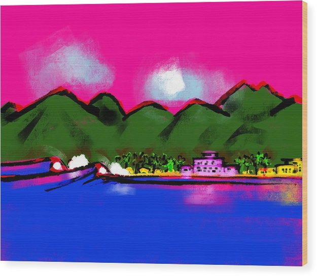 Royal Hawaiian - Wood Print
