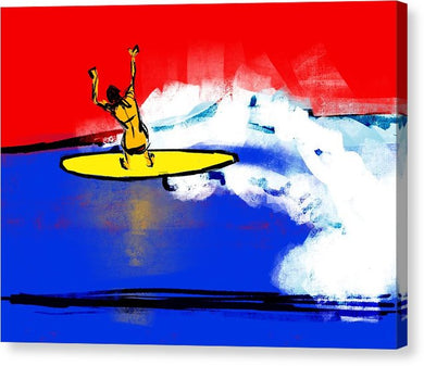 Surfer Girl - Canvas Print