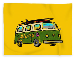 Vw Surf Bus - Blanket