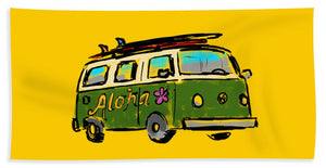 Vw Surf Bus - Beach Towel