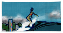Waikiki Girl - Beach Towel