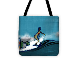 Waikiki Girl - Tote Bag