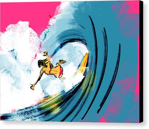Wipe Out - Canvas Print