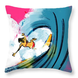 Wipe Out - Throw Pillow