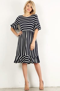 Striped Stunner Dress