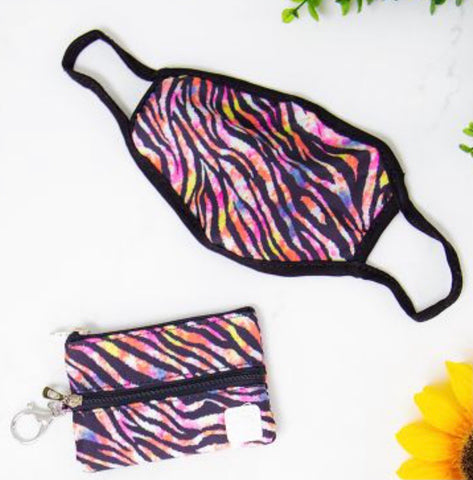 Wild Thing Zebra Mini Versi Bag and Mask
