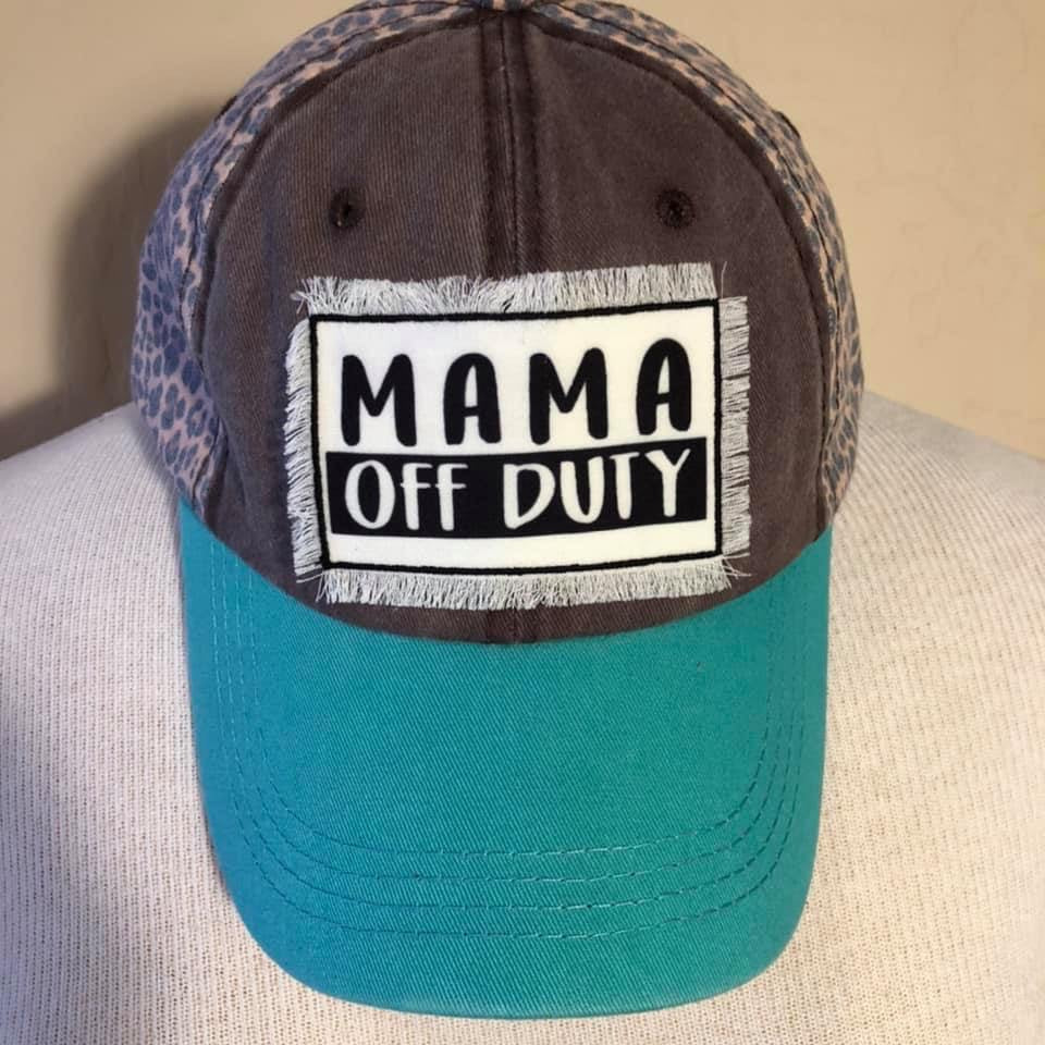 Mama Off Duty Cap