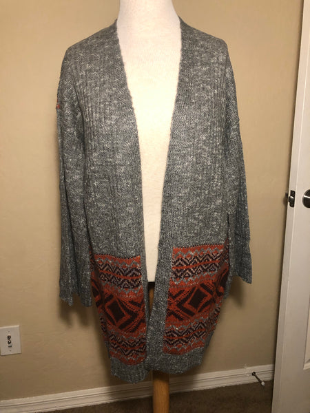 Tribe Texture Open Cardigan