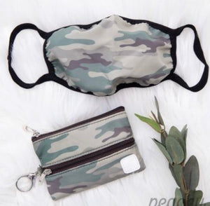 Camo Mini Versi Bag with Mask