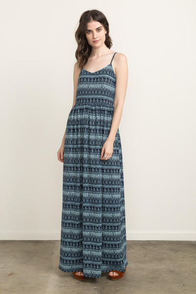 Knit Printed Maxi Dress