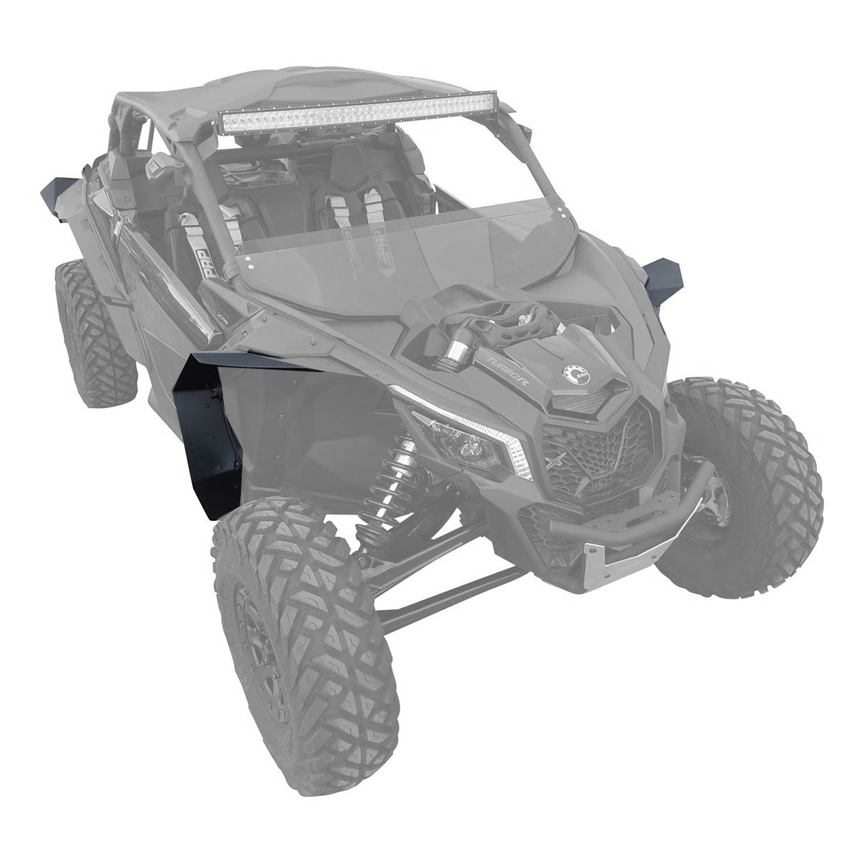Can-am Defender Mud Guards