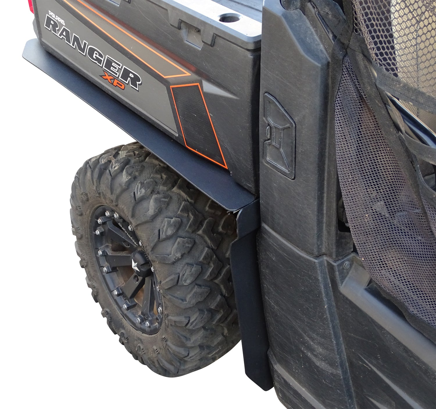 NEW POLARIS RANGER XP 500 700 800 CREW OVER FENDERS FLARES MUD GUARDS CUSTOM FIT