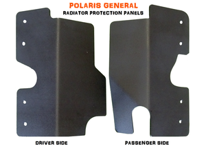 Polaris General Radiator Guard Panels