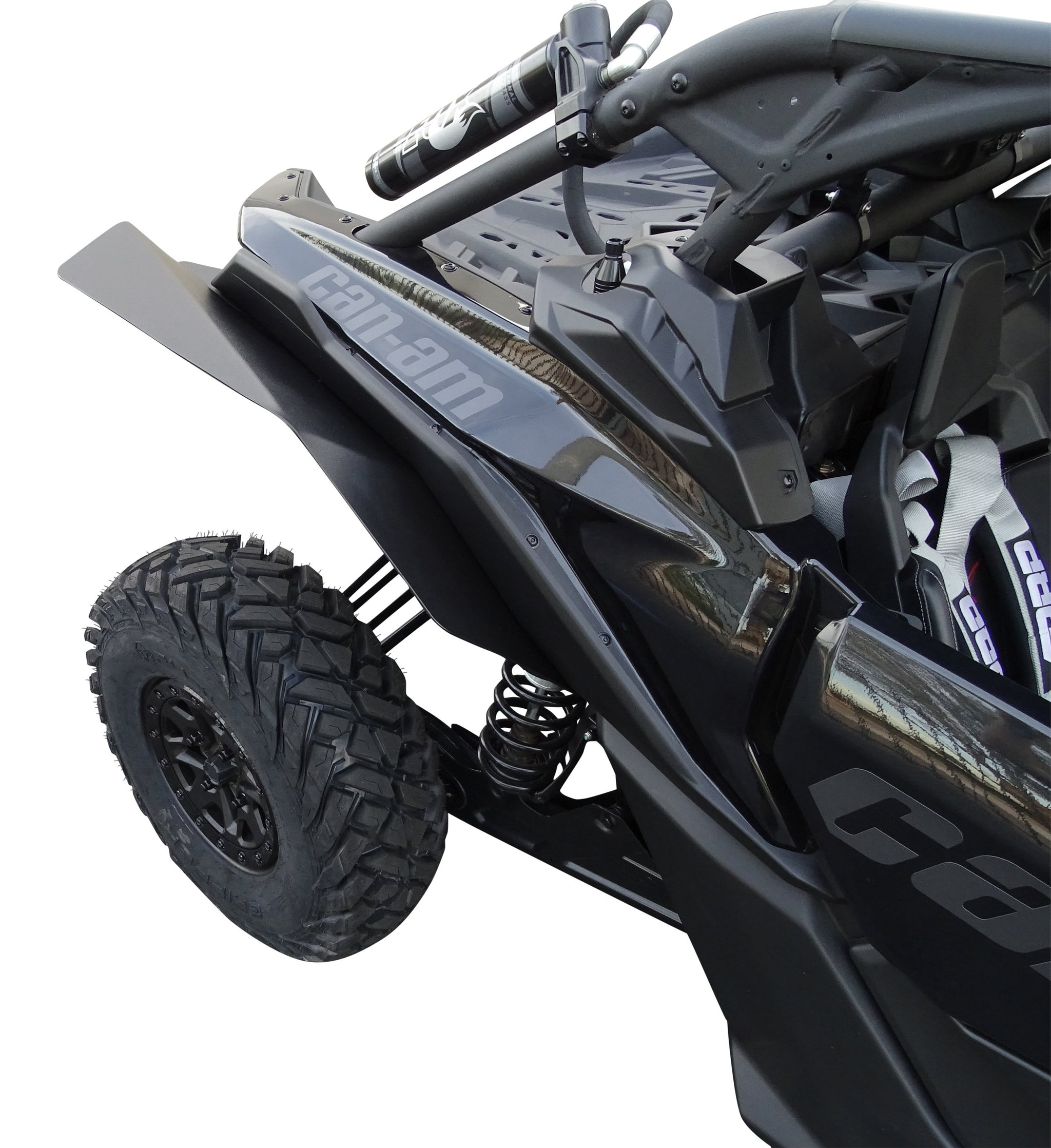X3 RS XL Longer rear fenders MudBusters fender flares mud flaps for the Can-Am Maverick X3 /& X3 Max