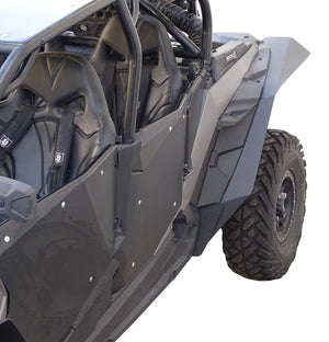 Polaris RZR XP 1000 and XP Turbo MAX Coverage Fender Flares