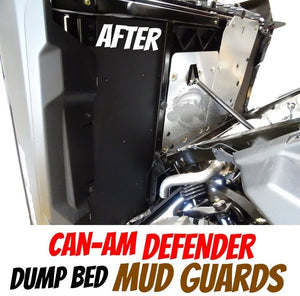 Can-Am Defender Dump Bed Mud Guards (2016 - 2021)