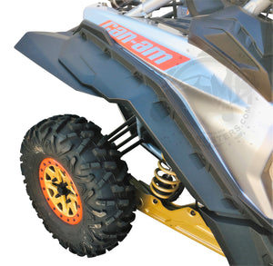 Fender Extensions for BRP Can-Am Maverick Fenders (MAX COVERAGE)