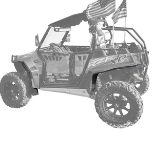 Polaris RZR XP 900 Fender Flares (2011-2014)