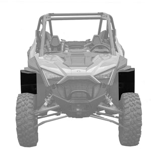 Polaris 2020 Pro XP Fender Extensions For Super ATV Fenders (Mud-Lite Coverage)