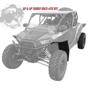 Polaris Double XL Fender Flare Extensions - Full Kit