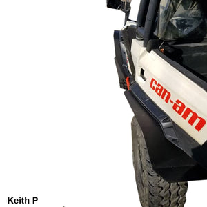 Can-Am Commander Fender Extensions (for XT fenders)