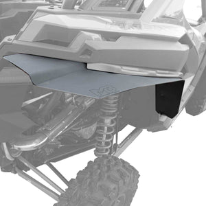 Polaris RZR Pro XP Fender Extensions for Super ATV Fenders (Max Coverage)