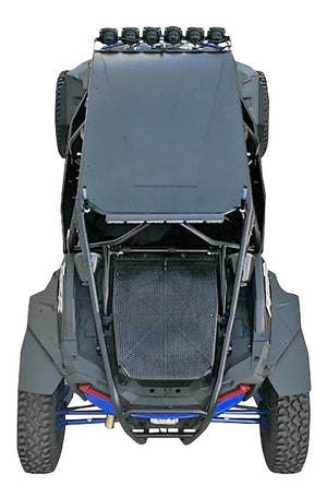 "Polaris RZR XP Race-Lite (Narrow -1"") Fender Extensions for SuperATV Fenders"