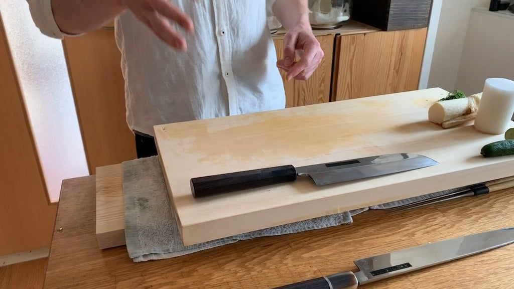 20. Tip to Use Usuba | KAISEKI APPRENTICE JON