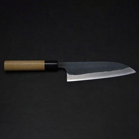 Shigefusa Kurouchi Santoku 165mm Ho Wood Handle | HITOHIRA