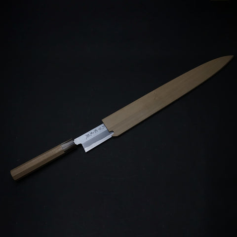 Takeda Vintage Blue Super Limited Yanagiba 360mm Ho Wood Handle (No.1) | HITOHIRA