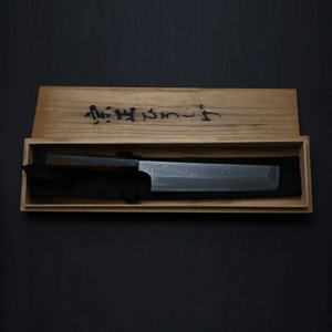 Shigefusa Kitaeji Wa-Usuba 210mm Ebony Handle - HITOHIRA