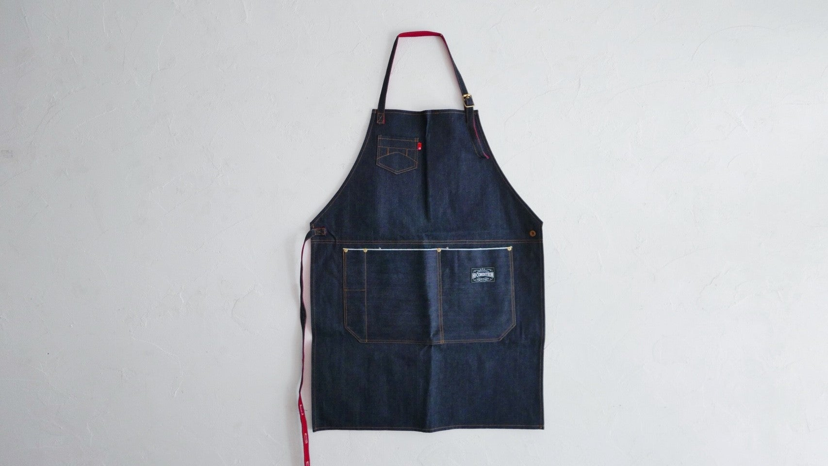 Hi-Condition Selvage Denim Apron | HITOHIRA