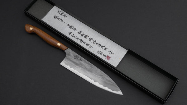 Jiro Tsuchime Yo Petty 150mm Lignum Vitae Handle (#023) | HITOHIRA