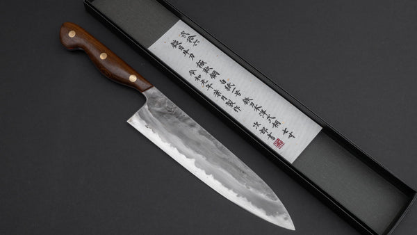 Jiro Tsuchime Gyuto 210mm Tagayasan Handle (Yo/ #026/ Discounted) | HITOHIRA