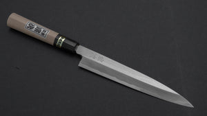 Morihei Munetsugu White #2 Yanagiba 180mm Ho Wood Handle | HITOHIRA
