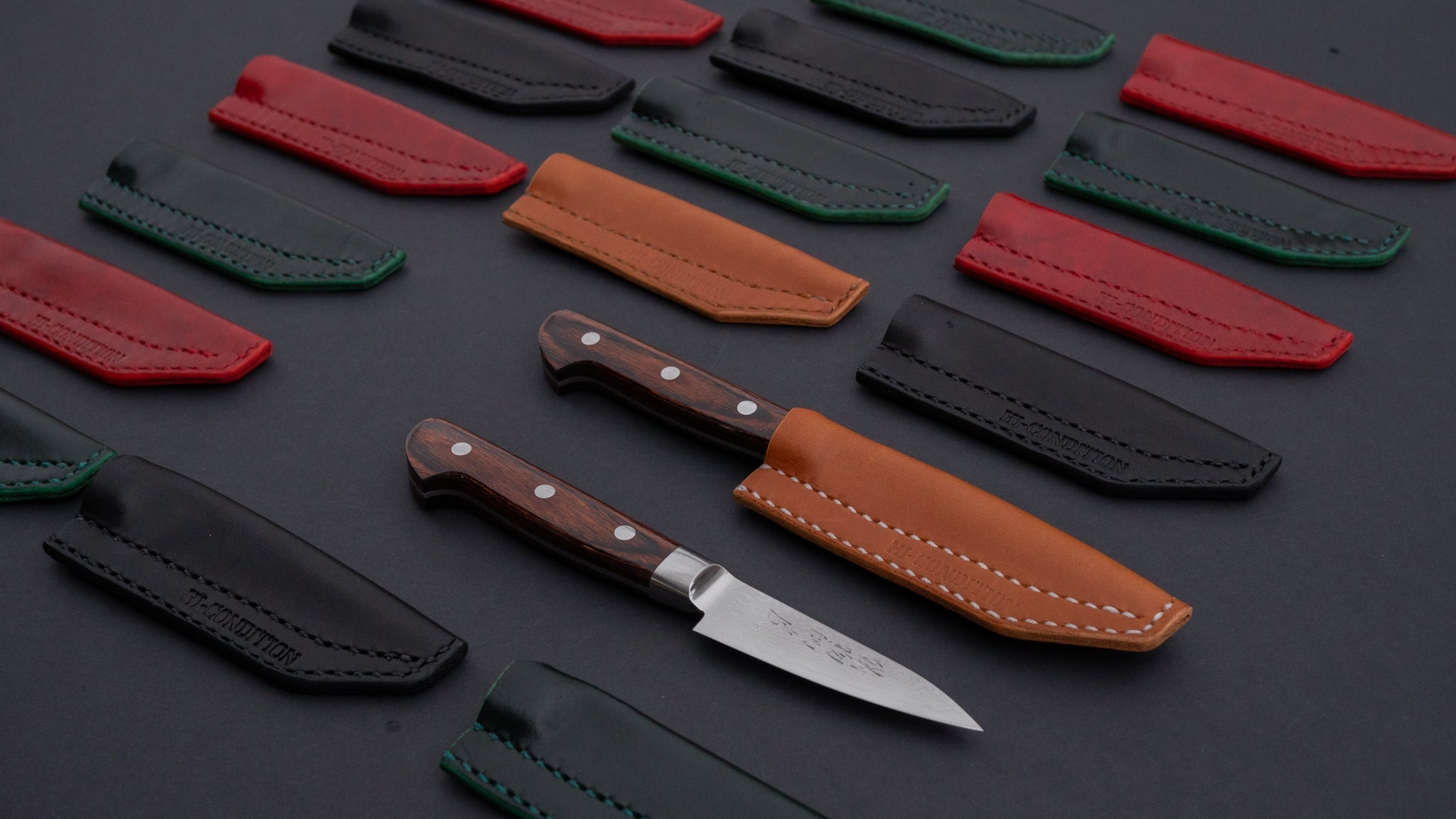 Hi-Condition Leather Knfie Sheath for Paring Knife | HITOHIRA