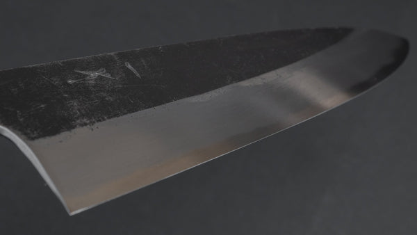 Hitohira Togashi Blue #2 Kurouchi Gyuto 240mm Cherry Wood Handle | HITOHIRA