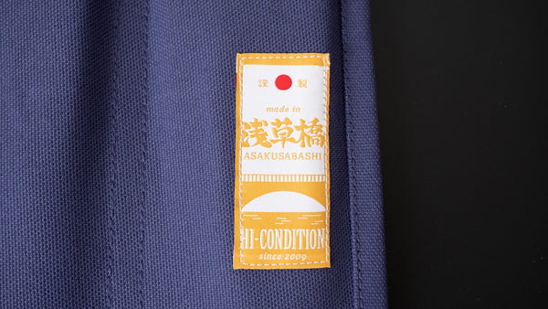 Hi-Condition Hanpu Canvas 6 Pockets Knife Roll Purple | HITOHIRA